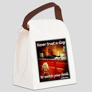 Food Watcher Canvas Lunch Bag
