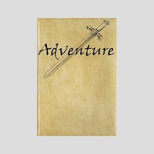 Adventure journal Rectangle Magnet