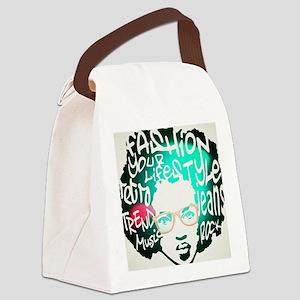 Melanic Fijian Swag Female Lite B Canvas Lunch Bag