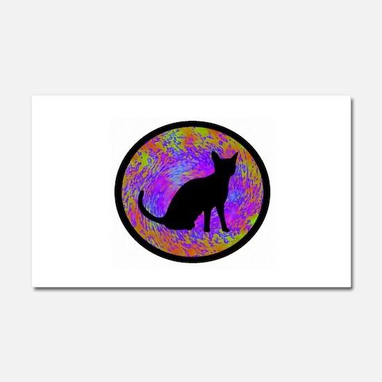 CAT Car Magnet 20 x 12