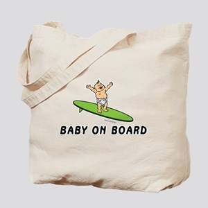 Baby on Board Tote Bag