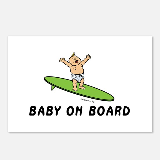 Baby on Board Postcards (Package of 8)
