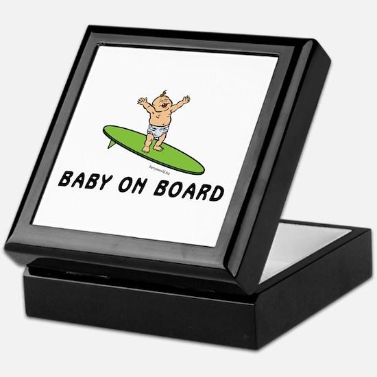 Baby on Board Keepsake Box