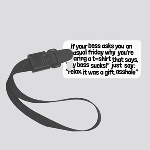 The Original: Casual Friday, My  Small Luggage Tag