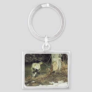 """""""More  Play  Time"""" Landscape Keychain"""
