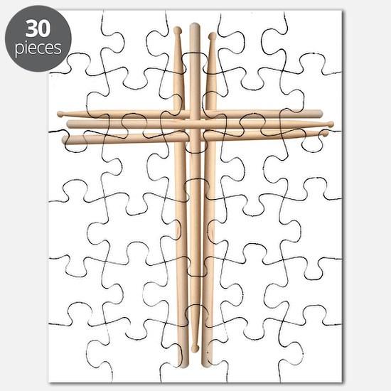 Cross - Drumsticks Puzzle