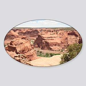 Canyon de Chelly National Monument, Sticker (Oval)