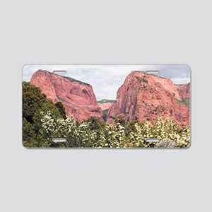 Kolob Canyons,Zion National Aluminum License Plate
