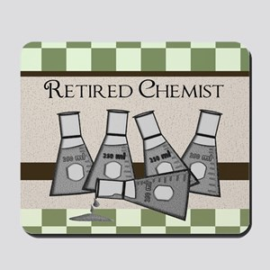 retired chemist  9 Mousepad