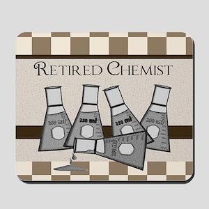 retired chemist blanket 8 Mousepad