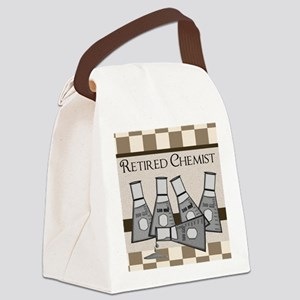 retired chemist blanket 8 Canvas Lunch Bag