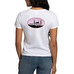 rockgrrl shilouette logo Women's T-Shirt