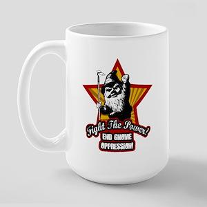 Fight The Power Gnome Large Mug
