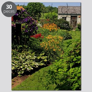Garden Shed View Puzzle