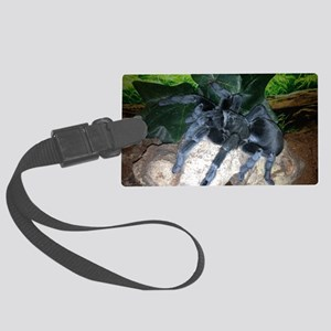 Brazilian Black tarantula Large Luggage Tag