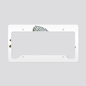 walleye art License Plate Holder