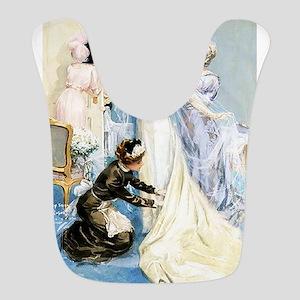 The Bride Polyester Baby Bib