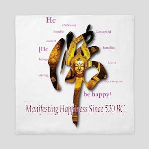 BUDDHA: Since 520BC Queen Duvet