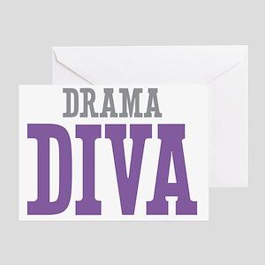 Drama DIVA Greeting Card