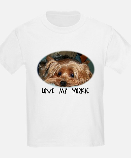 love my yorkie T-Shirt