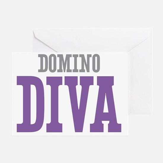 Domino DIVA Greeting Card