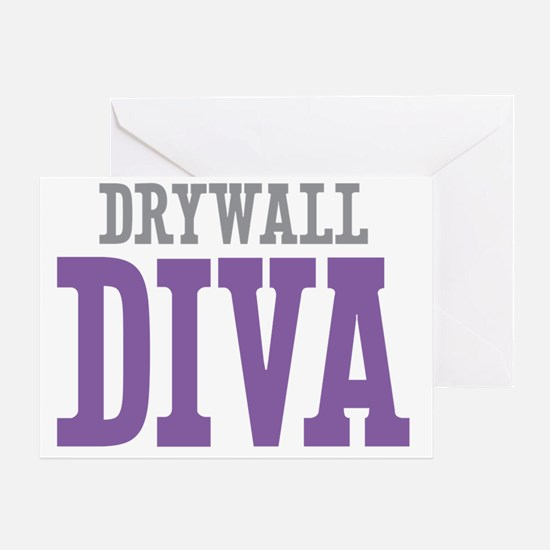 Drywall DIVA Greeting Card