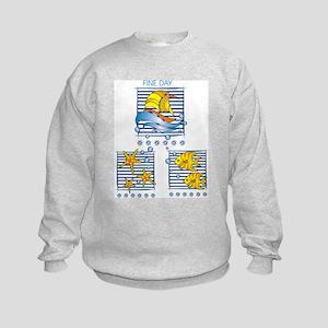 fine day Kids Sweatshirt