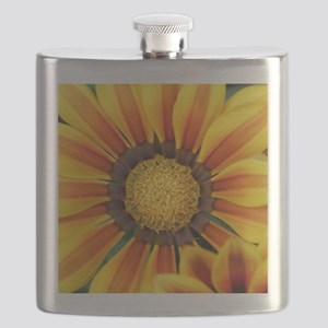 gazania - suedepillow Flask