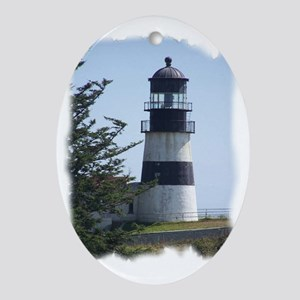 Light house Oval Ornament