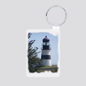 Light house Aluminum Photo Keychain