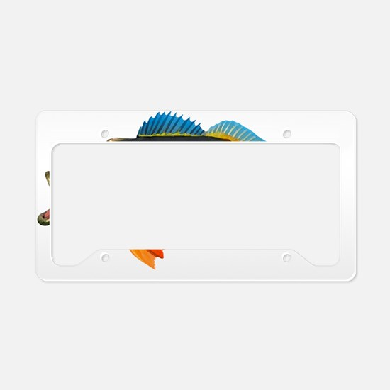 Peacock Bass License Plate Holder
