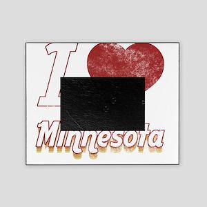 I Love Minnesota (Vintage) Picture Frame