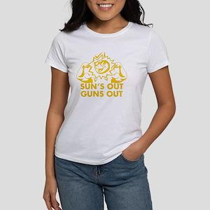 Suns Out Guns Out Women's T-Shirt