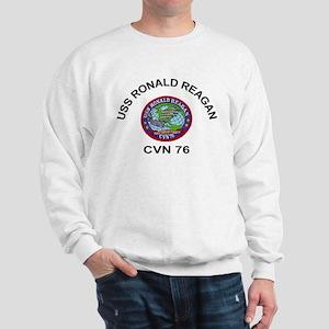 USS Ronald Reagan CVN 76 Sweatshirt