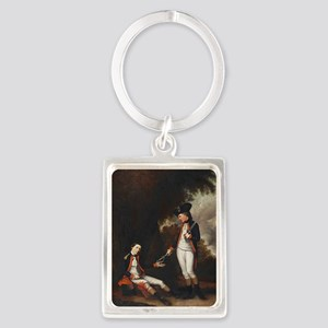 death of colonel roberts Portrait Keychain