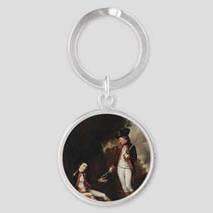 death of colonel roberts Round Keychain