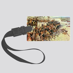 guilford court Large Luggage Tag