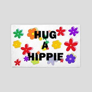 Hug a Hippie 3'x5' Area Rug