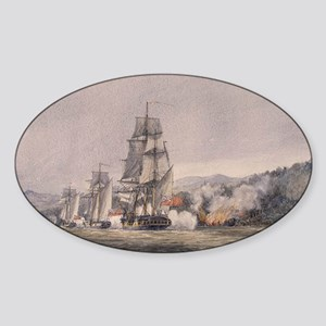 valcour island Sticker (Oval)