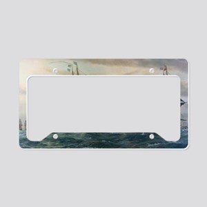 virginia capes License Plate Holder