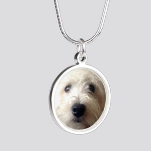 Hello there! Silver Round Necklace