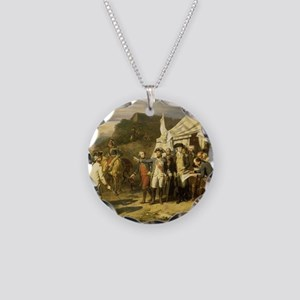 yorktown Necklace Circle Charm