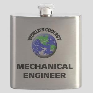 World's Coolest Mechanical Engineer Flask