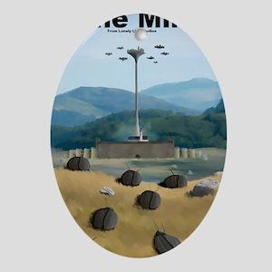 Rune Miner Oval Ornament
