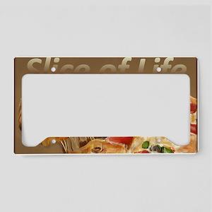 Slice of Life License Plate Holder