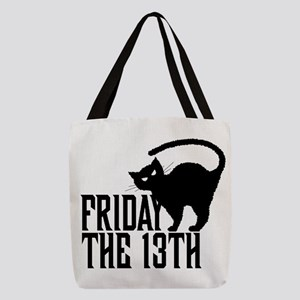 Friday the 13th Polyester Tote Bag