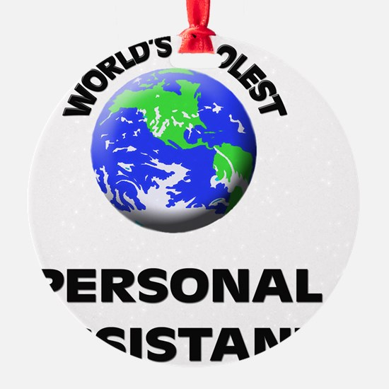 World's Coolest Personal Assistant Ornament