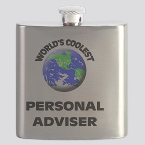 World's Coolest Personal Adviser Flask