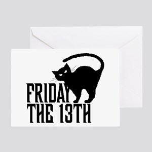 Friday The 13th Greeting Cards