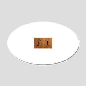 f-hole-713-OVHAT 20x12 Oval Wall Decal